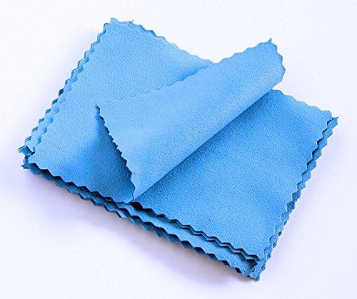 Micro Detailer Premium Ceramic Coating Suede Microfiber Cloths 3.9 in. x 3.9 in. (12 Pack)