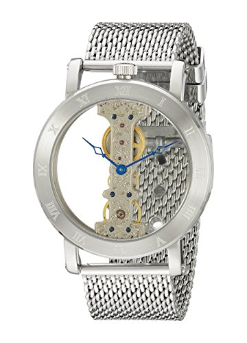 Burgmeister Men's BM331-101 Analog Display Mechanical Hand Wind Silver Watch
