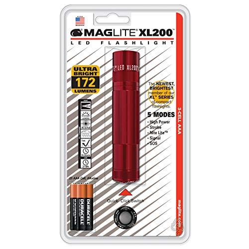 Maglite XL200 LED 3-Cell AAA Flashlight, ()