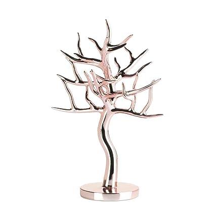 Amazoncom Koehler Rose Gold Jewelry Tree Home Kitchen