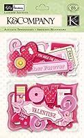 K&Company Kelly Panacci Valentine Icon Layered Accents