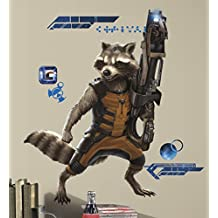RoomMates RMK2650GM Guardians of The Galaxy Raccoon Peel and Stick Giant Wall Decals
