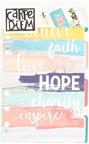 (Carpe Diem by Simple Stories Faith Personal Planner Insert Set)