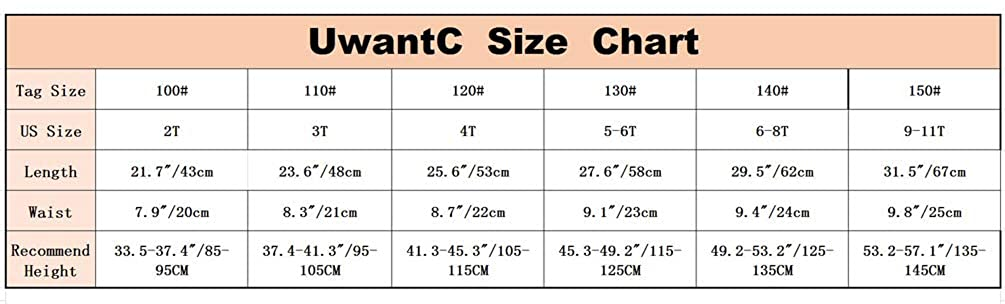UwantC Girls Winter Warm Cotton Fleece Lined Ruffle Tutu Skirt Leggings Pantskirt