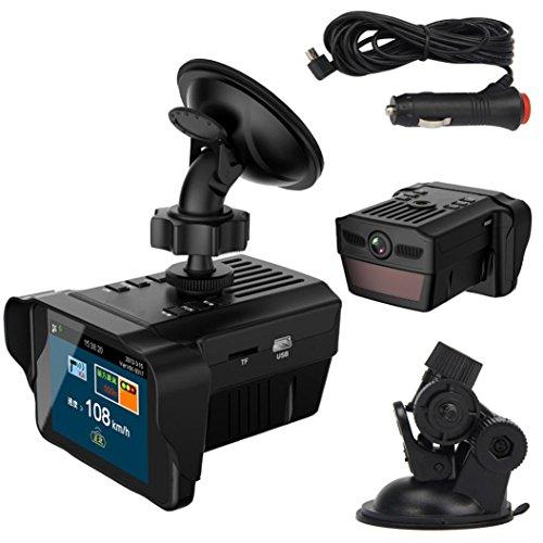 UPC 646816518362, POTO Car Electronic Dog Radar Detector Rearview Mirror Vehicle Video Camera Recorder