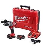 Milwaukee 2604-22CT M18 Fuel Hammer Dr Kit W/2 Cmpt Bat