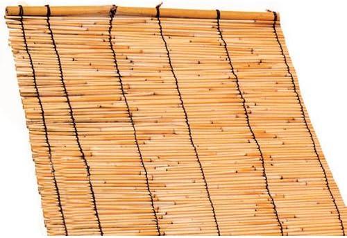 Esterilla para dar sombra de cañas de bambú, 150 x 500, caja con 3 unidades: Amazon.es: Jardín