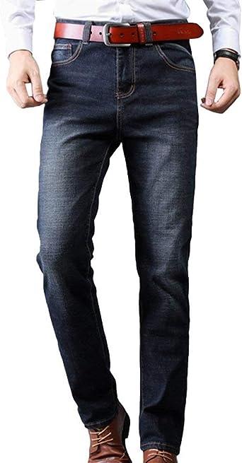 Pantalones De Mezclilla Jeans Stretch Stretch Jeans Strech Moda Para Hombre Pantalones De Mezclilla Straight Business Denim Pants Amazon Es Ropa Y Accesorios