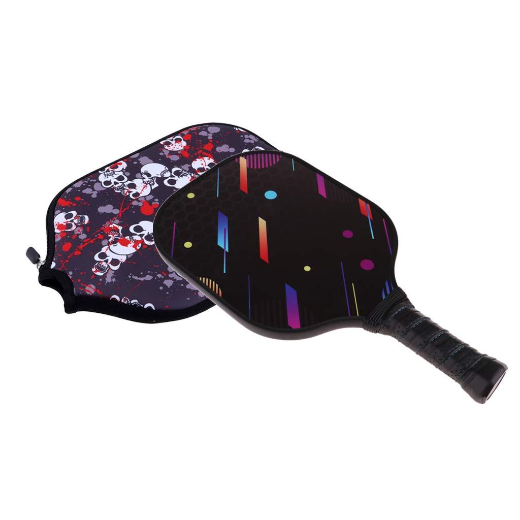 B Baosity - Juego de palas de pícnic con bolsa de almacenamiento, remo para picnic y pelotas de interior y exterior morado/negro: Amazon.es: Bebé