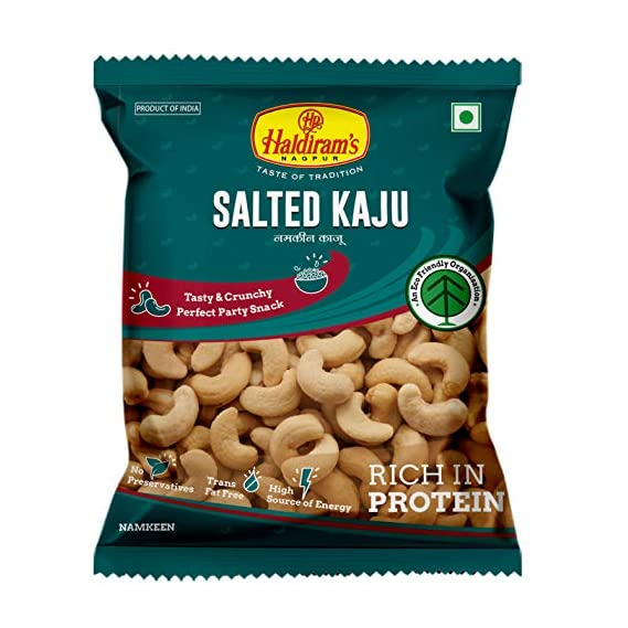 Haldiram Salted Kaju 175 gms (35 gm x Pack of 5)