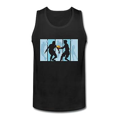 calyfree Juego de baloncesto deportes casual sin mangas camiseta ...