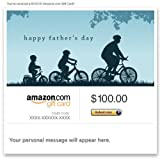 Amazon eGift Card - Happy Father's Day (Bicycling)