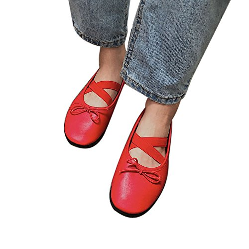Fashion Casual Flat Red Dance Women Peas4 Sneakers Yoga Riou Ballet Shoes Soft Shoes Shoes BvU8q
