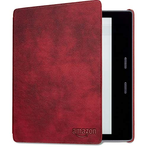Kindle Oasis Leather Cover, Merlot (Amazon Cover Kindle Leather)