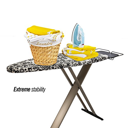 Bartnelli 51x19-Inch Multi layered T-Leg Extra Wide Ironing Board