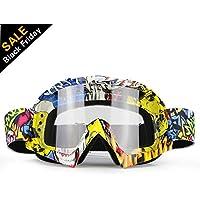 ZDATT Dirt Bike Goggles, ATV Goggles Adult Motocross...