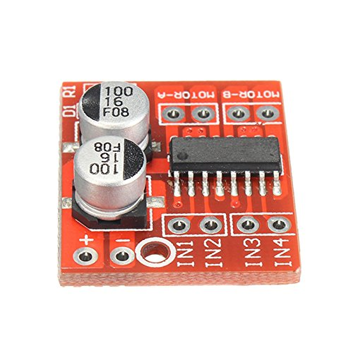 SODIAL 1PC Hot Sale Dual Channel L298N DC Motor Driver Board PWM Speed Dual H-Bridge Stepper Module