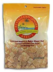 Reed's Crystallized Baby Ginger Root Candy (Pack of 10)