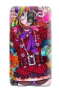 David Jose Barton's Shop Hot Galaxy Note 3 Woman Anime Print High Quality Tpu Gel Frame Case Cover