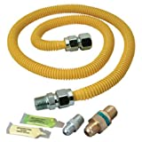 Brasscraft Psc1106 K5 Safety Plus Gas Installation Kit For Dryer And Range