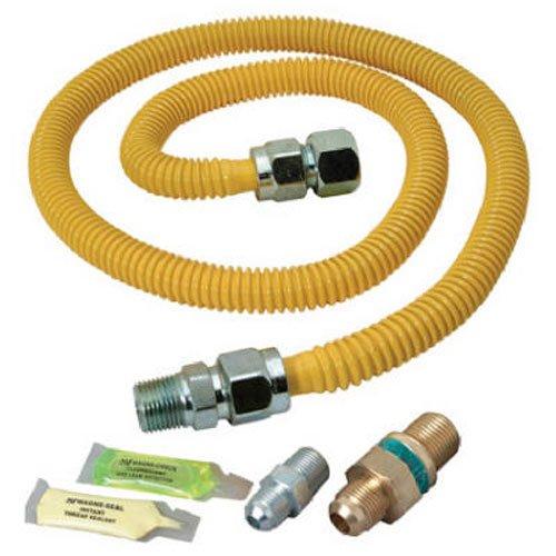BrassCraft PSC1106 K5 Safety PLUS Gas Installation Kit for Dryer and Range