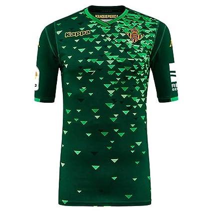 varios tipos de patrones de moda Precio reducido Amazon.com : Kappa 2018-2019 Real Betis Away Football Soccer ...