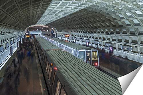 (Ashley Giclee Metro Station, 16x20)