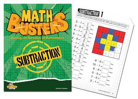 Fat Brain Toy Co Math Busters - Subtraction by Fat Brain Toy Co.   B0035PJ2PQ