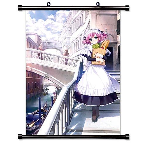 16 x 23 Grisaia no Kajitsu Anime Fabric Wall Scroll Poster Inches