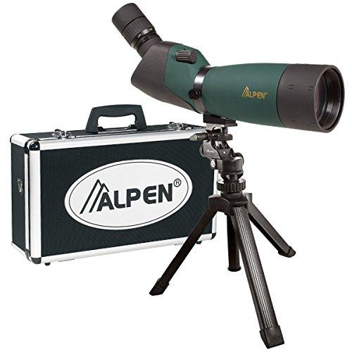 ALPEN 20-60x80 w/45 deg eyepiece Waterproof Fogproof Spotting Scope Kit by Alpen Optics