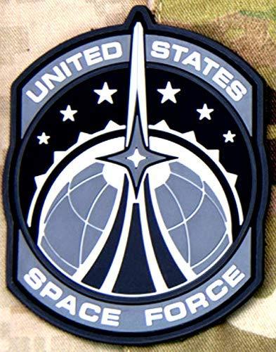 Milspec Space Force Morale PVC Patch - Urban SWAT