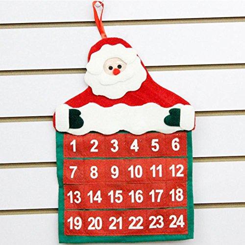 Lobby Boy Costume For Sale (Iuhan Christmas Decorations Santa Claus Calendar Hotel Lobby Family Pendant Home Decors)