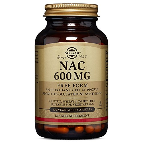 Solgar – NAC 600 mg, 120 Vegetable Capsules