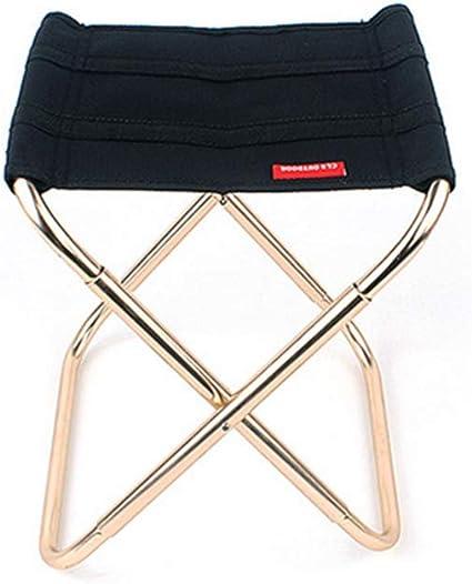 Tissu Oxford pour Camping Wiiguda@ Chaise Pliable Ext/érieur Mini Chaise Portable Hiking Petite Chaise de P/êche Jardin P/êche Alliage Aluminium Plage BBQ Chaise de Camping