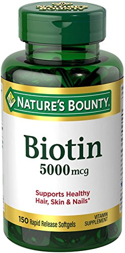The Best Biotin Nature Bounty 5000 Mcg