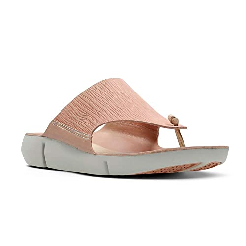 outlet store newest style of best sale CLARKS Womens Tri Carmen Sandal, Pink Nubuck, Size 7