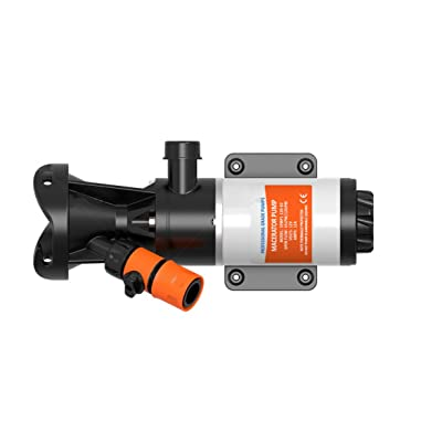 SewerFlo Quick Release RV Macerator Pump - 12V, 12GPM: Automotive