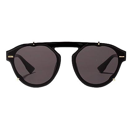 Gafas de sol redondas para mujer, modernas, clásicas, gafas ...