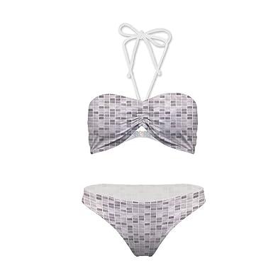 Amazon Multi Style BikiniPatterns Print On Modern Background Custom Bikini Patterns