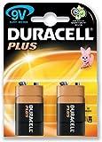 Duracell Plus MN1604 Battery Alkaline 9V Ref 75051888/81275365 [Pack 2]