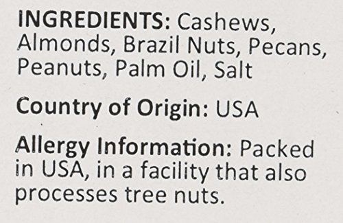 Amazon.com : Deluxe Mixed Nuts Roasted And Salted, 5 Lbs : Snack Mixed Nuts : Grocery & Gourmet Food