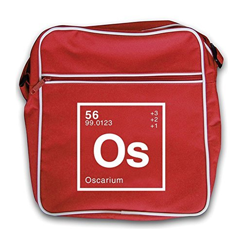 Oscar Periodic Red Dressdown Element Flight Retro Bag dOwRgqx5R