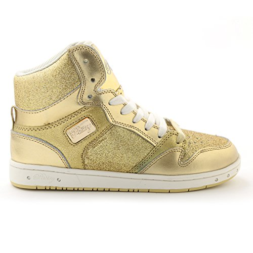 Shoe Gold Adult Pie Pastry Glitter Dance Glam ZXUTYU7