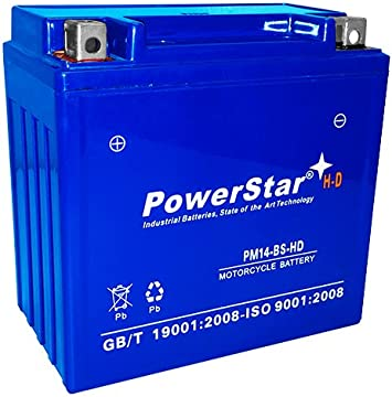 See Compatible Models Lead-Acid AGM Motorocycle Battery YTX14-BS Battery