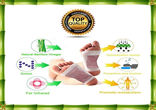 Cleansing Foot Pads (Pack of 20) By RoCaFutures: ALL NEW!! two