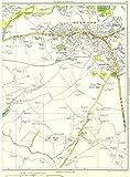 HEYWOOD:Bury,Heady Hill,Broadfield,Hopwood,Birch,Whittle Hill 1935 old map