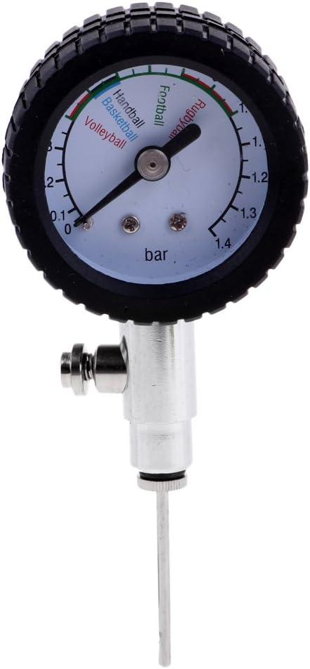 Baoblaze Premium Barómetro para Neumáticos de Bicicletas Hecho de Metal