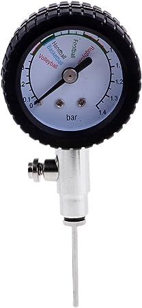 Premium Barómetro para Neumáticos de Bicicletas Hecho de Metal