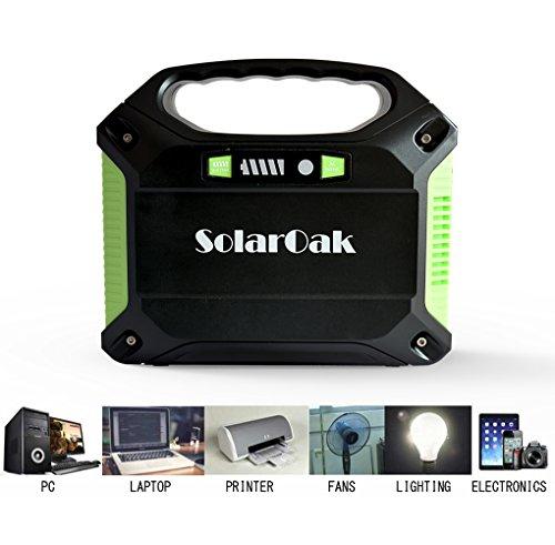 Solaroak Portable Solar Generator 42000mah 155wh Energy