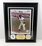 Highland Mint Minnie Minoso Photo with White Sox Pin and Coin Framed DA025236